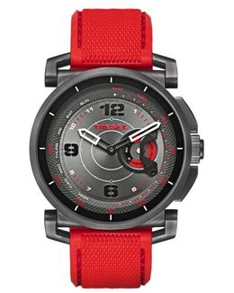 Diesel Sleeper Hybrid Canvas Strap Watch