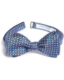 John W. Nordstrom Geometric Silk Bow Tie