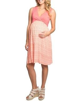 Cleo Maternity/nursing Dress