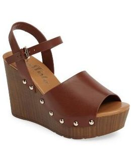 Sadler Wedge Sandal