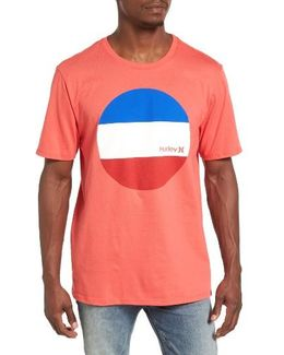Circular Block Graphic T-shirt