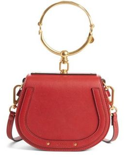 Nile Bracelet Leather Cross-body Bag