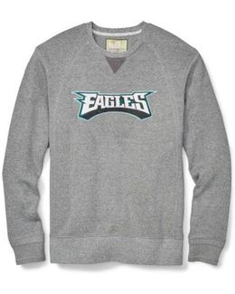 Nfl Stitch Of Liberty Embroidered Crewneck Sweatshirt