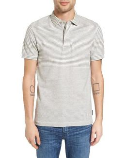 Menon Block Stripe Polo