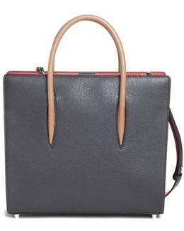 Medium Paloma Leather Tote