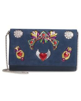 Mexiloubi Paloma Leather Clutch - None