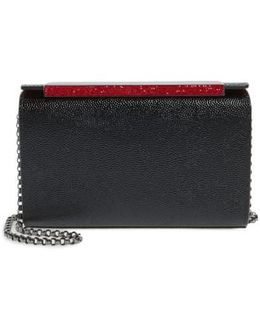 Small Vanite Calfskin Leather Clutch