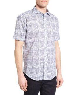 Shaped Fit Sport Shirt