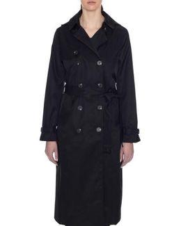 Lauren Long Hooded Trench Coat
