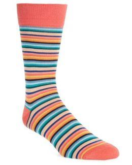 Degrade Stripe Socks