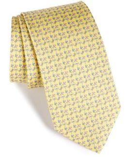 Dragonfly Silk Tie