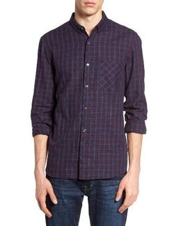 Check Twill Sport Shirt