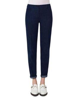 Slim Stretch Denim Pants