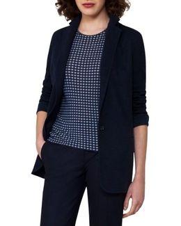 Cashmere Blend Jersey Jacket