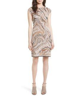 Geode Jacquard Dress