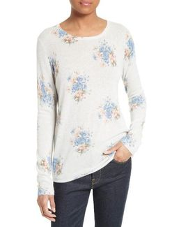 Feronia Floral Cashmere Sweater