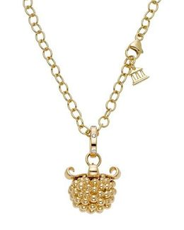 Temple St. Clair Large Pod Diamond Pendant