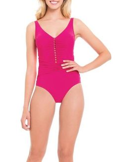 Waterfall One-piece Swimsuit