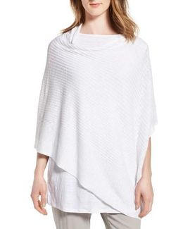 Organic Linen & Cotton Poncho