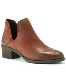 Marcella Leather Ankle Boots