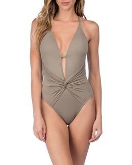 Island Goddess One-piece Swimsuit