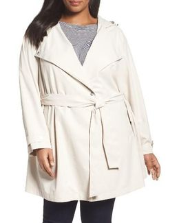 Breathable Microfiber Trench Coat