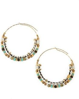 Comedia Hoop Earrings
