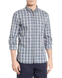 Lifeline Skate Park Slim Fit Check Sport Shirt