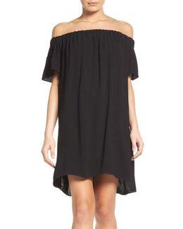 Evening Dew Off The Shoulder Dress