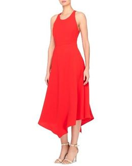 Reggie T-back Fit & Flare Dress