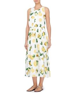 Alfie Print Midi Dress