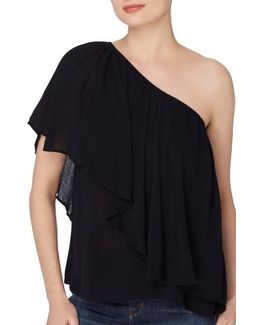 Magritte One-shoulder Top