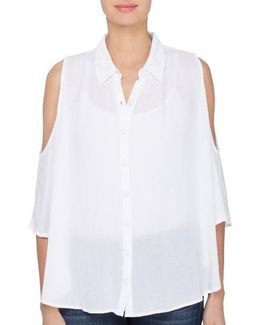 Bela Cold Shoulder Blouse