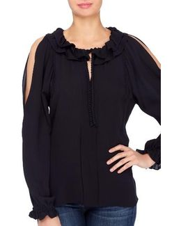 Sayer Cold Shoulder Blouse