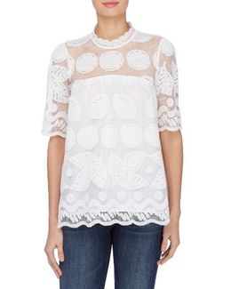 Gia Lace Blouse