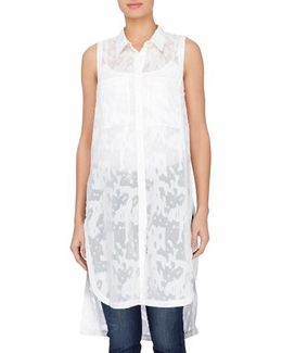 Annabella Burnout Tunic