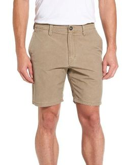 Faded Hybrid Shorts