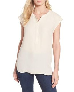 Split Neck Blouse