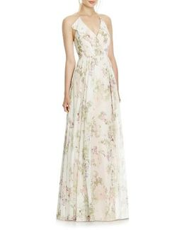 Chiffon A-line Gown