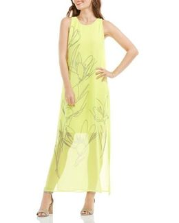 Fluent Cluster Maxi Dress
