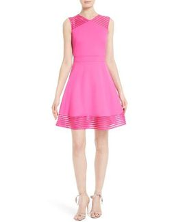 Eleese Fit & Flare Dress