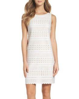 Laser Cut Scuba Dress