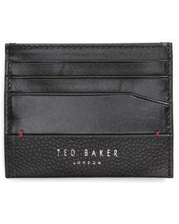 Slippry Leather Card Case
