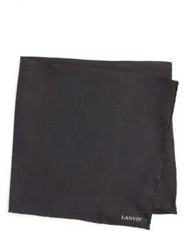Solid Silk Pocket Square