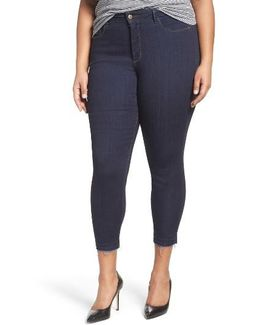 Ami Release Hem Stretch Skinny Jeans