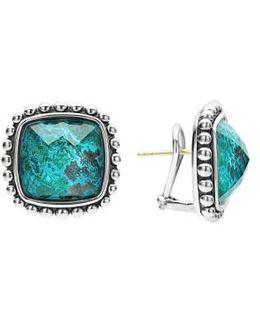 Maya Semiprecious Stone Stud Earrings