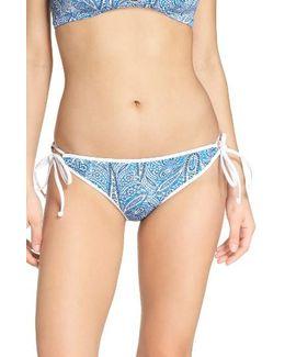 Summer Tide Side Tie Bikini Bottoms