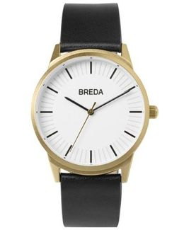 Bresson Leather Strap Watch