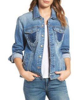 7 For All Mankind Oversize Denim Jacket