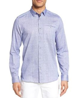 Olley Extra Slim Fit Check Sport Shirt